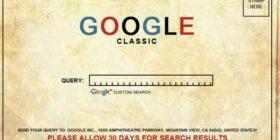 Google Classic Search