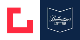 Grid Worldwide logo and Ballantines logo