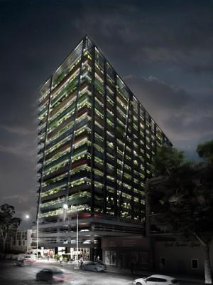 Hallmark House, Maboneng: exterior facade