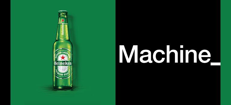 Heineken and Machine logo