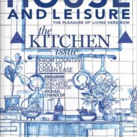 House and Leisure, Kitchen Issue, April 2018