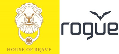 House of Brave logo + Rogue logo