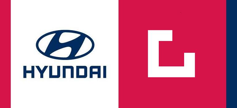 Hyundai logo and Grid Worldwide logo