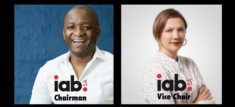 IAB SA Alistair Mokoena and Claire Cobbledick