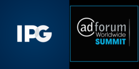 IPG logo and AdForum Worldwide Summit logo