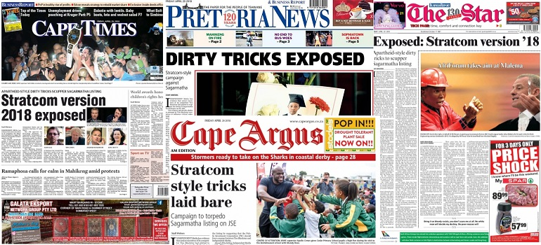 Independent Media up to Stratcom tricks collage