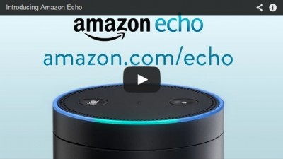 Introducing Amazon Echo screengrab