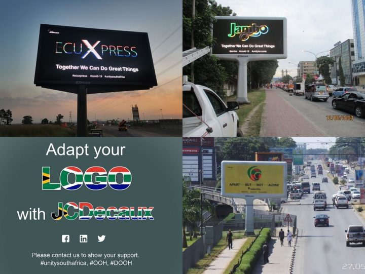 JCDecaux Africa UNITY collage
