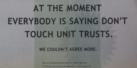 Old Mutual Unit Trusts ad in Sunday Times 2001