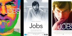 Jobs (2013) movie poster — three versions