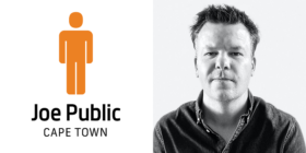 Joe Public Cape Town logo and Brendan Hoffmann