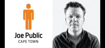 Joe Public Cape Town logo and Brendan Hoffmann
