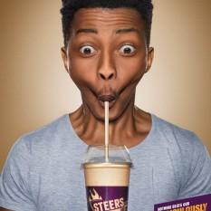 Joe Public poster for Steers Milkshakes Sbu