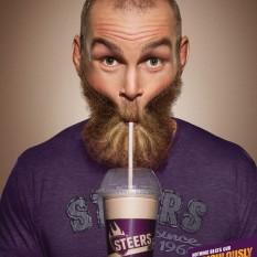 Joe Public poster for Steers Milkshakes Soldier Boy