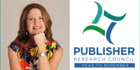 Josephine Buys and Publisher Research Council (PRC) logo