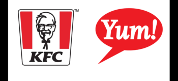 KFC logo and Yum logo