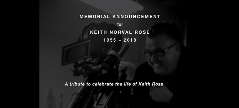 Keith Rose memorials details