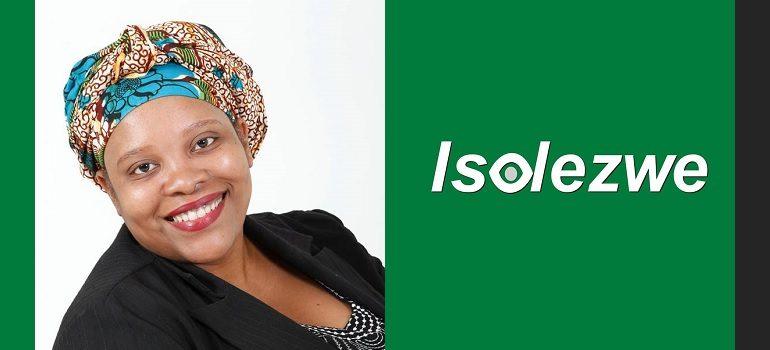 Kiki Ntuli and Isolezwe logo