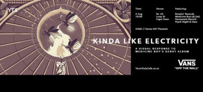 Kinda Like Electricity event Facebook cover image amended