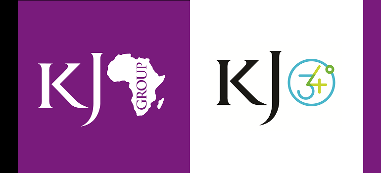 King James Group Africa logo and KingJames34logo
