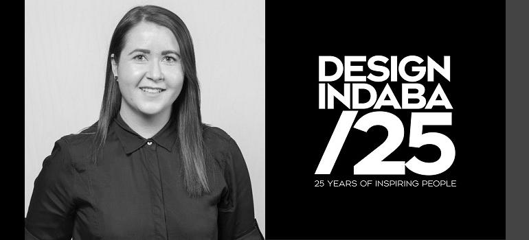 Kyley Potgieter and Design Indaba 25 logo