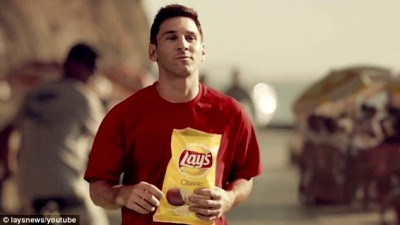 Lay's limited edition with Lionel Messi