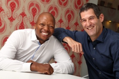 L-R: Mohale Ralebitso, group chairman, and Brett Morris, group chief executive officer, FCB South Africa