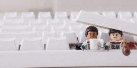 Lego people in keyboard by James Pond courtesy of unsplash