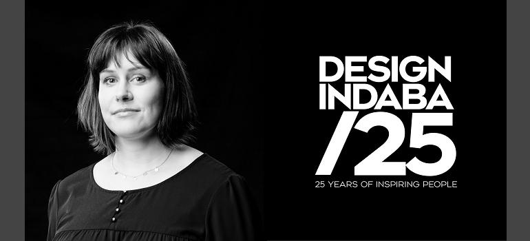 Leigh Tayler and Design Indaba 25 logo