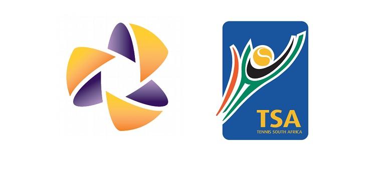 Levergy logo and Tennis South Africa logo