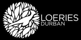 Loeries Durban logo white on black