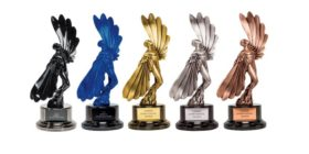 London International Awards LIA statuettes