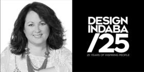 Louise Burgers and Design Indaba 25 logo