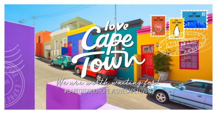 Love Cape Town we are worth waiting for postcard Bo-Kaap
