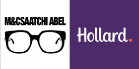 M&C Saatchi Abel logo and Hollard logo