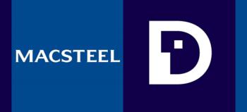 Macsteel logo and Demographica logo