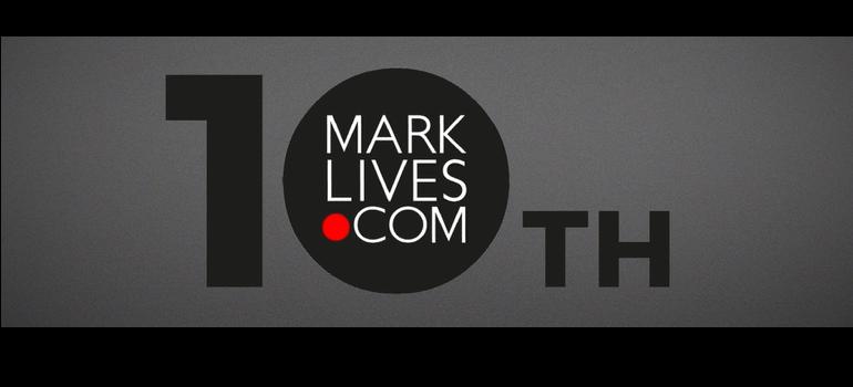 MarkLives 10th birthday logo courtesy of Conversation LAB