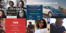 MarkLives AdChamps collage Jul 2020 with SA covid-19 stats 12 Jul 2020 - Media Hack Collective