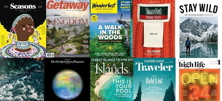 MarkLives MagLoveTop10 Best travel magazine covers of 2015