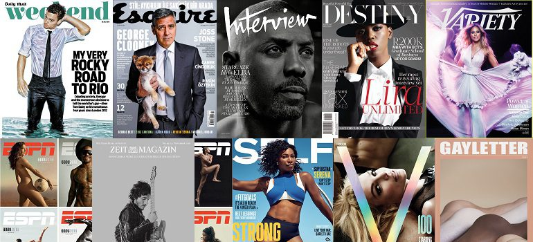MarkLives #MagLoveTop10 Sexiest magazine covers of 2016