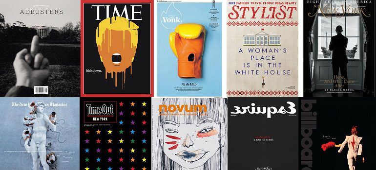 MarkLives #MagLoveTop10 The best magazine covers of 2016 — international