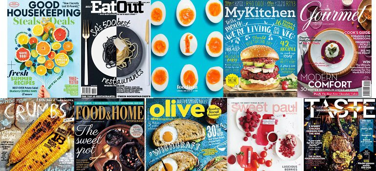 MarkLives #MagLoveTop10 Yummiest food magazine covers of 2016
