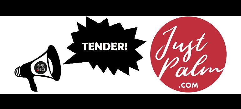 MarkLives tender Justpalm logo