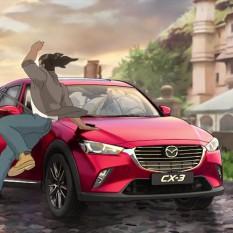 Mazda CX-3 Black River FC TVC screengrab 05