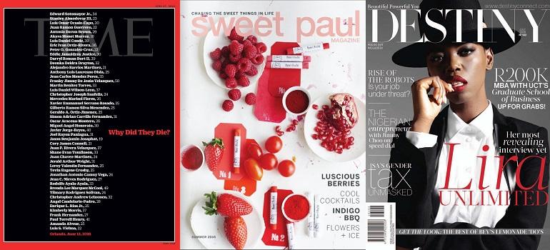 MediaSlut MagLove Best Magazine Covers 24 June 2016