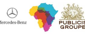 Mercedes-Benz logo and Publicis Groupe Africa logos