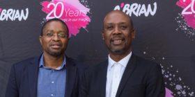 O'Brian: Mxolisi Evan Tyawa, founder and CEO, and Madoda Dhlamini, founding creative director