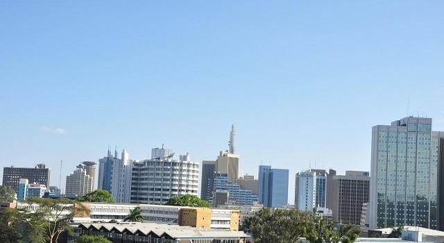 Nairobi skyline from BBC Studios. Pic courtesy of Wikipedia.
