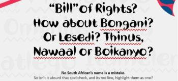 Nando's Bill of Rights #rightmyname