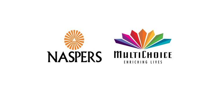 Naspers logo and MultiChoice logo